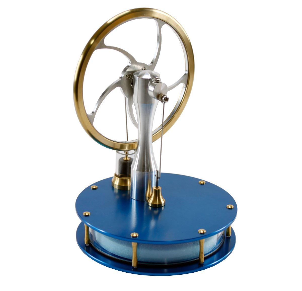 Precision Stirling Engine Blue Kit From Gyroscope Com