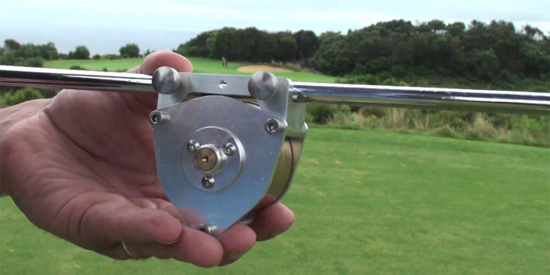 The can't miss golf gyroscope