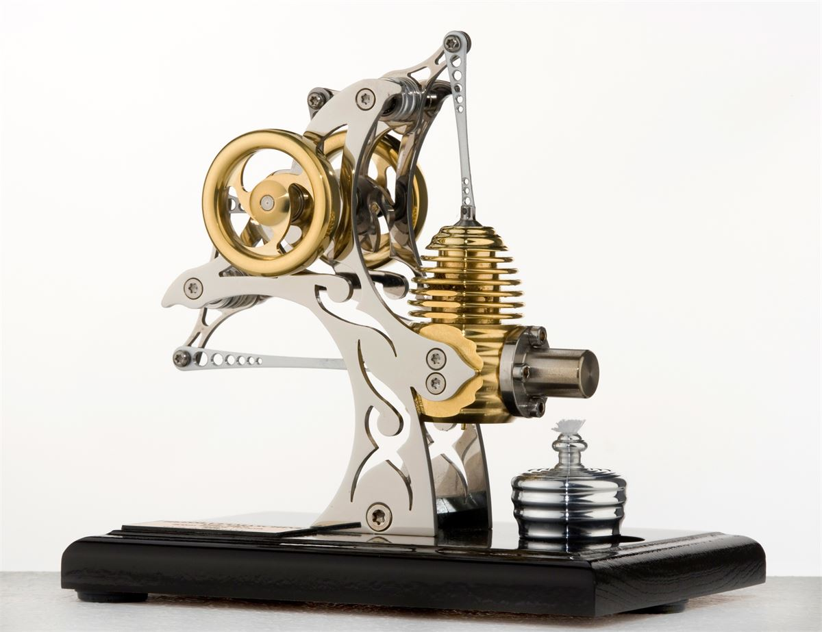 Small Tattoo - Bhm Stirling engine