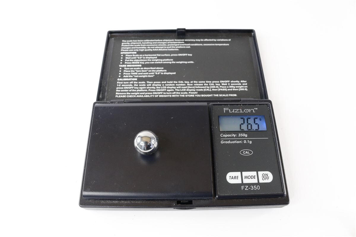 Tungsten balls for fidget spinners - 3 balls - From Gyroscope